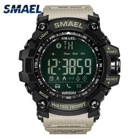Image of Fashion Casual Wristwatches Smael Brand Golden