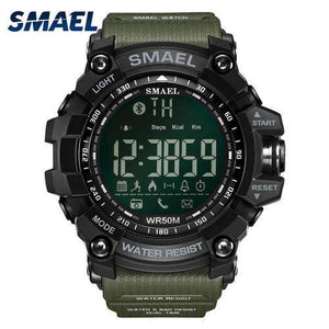 Fashion Casual Wristwatches Smael Brand Golden