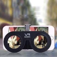 Portable Mini 3D Virtual Reality Fold Glasses