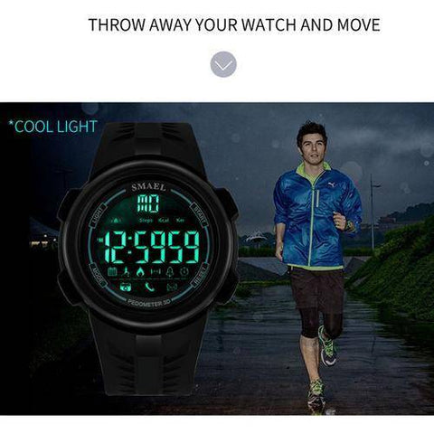 Bluetooth Watch for Men Smart LED Display