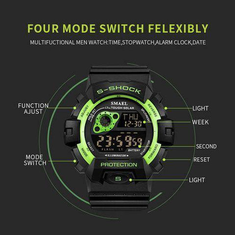 Digital Wristwatches LED Man Sport Watch