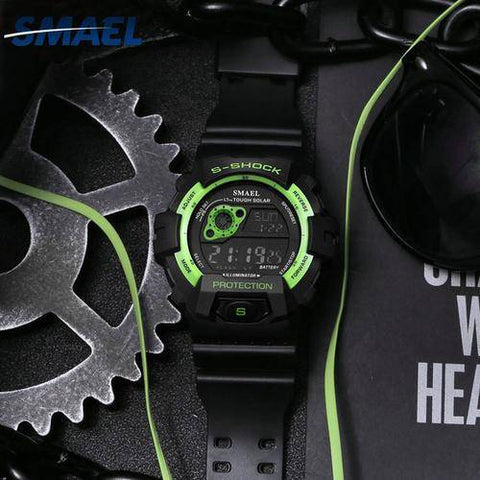 Image of Digital Wristwatches LED Man Sport Watch