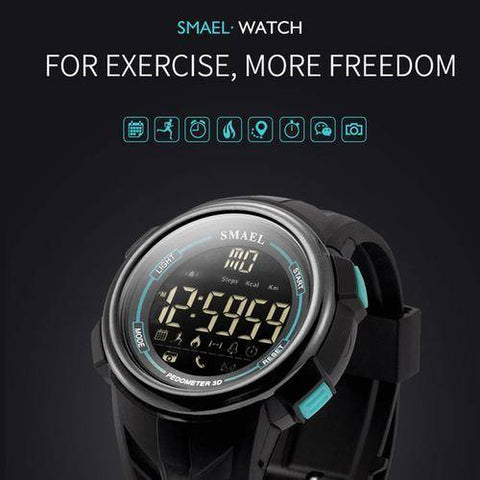 Digital Wristwatches Waterproof