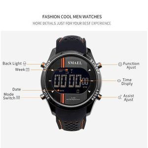 LED Digital WristWatches Man Quartz Sport