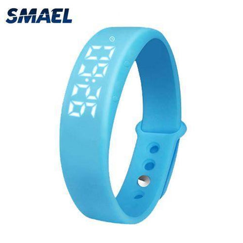 LED Multifunctional Wristwatch USB Transmit
