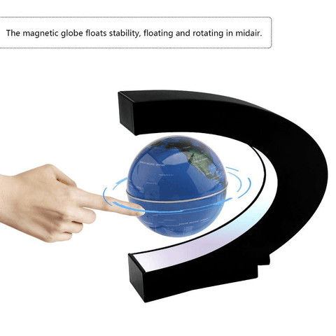 Electronic Magnetic Levitation Globe with LED lights