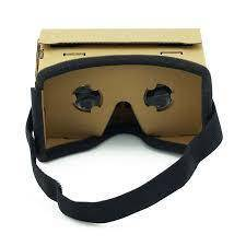 Ulter Clear DIY Cardboard 3D VR Glasses For Smartphone