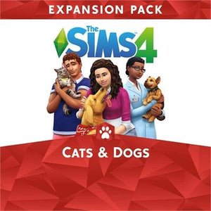 Sims 4 Cats and Dogs Bun PS4