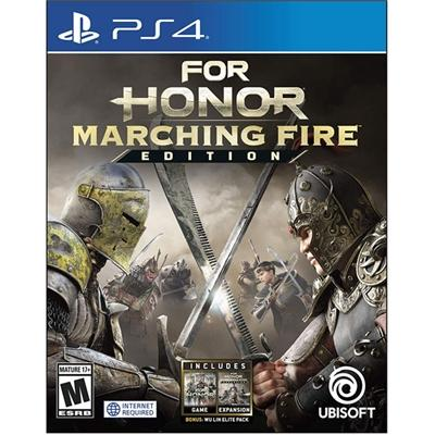 For Honor Marching Fire Lt PS4