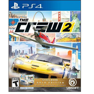The Crew 2 Steelbook GOLD PS4
