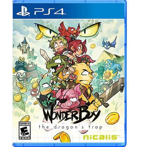 Wonder Boy Dragons Trap PS4
