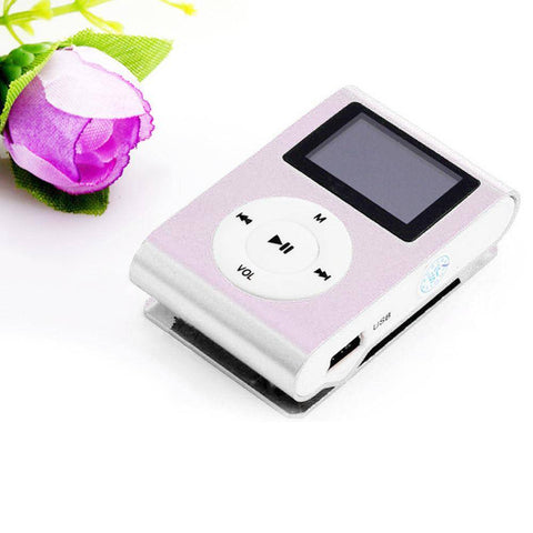 32 GB Mini USB Clip MP3 Player
