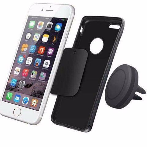 Car Magnetic Air Vent Mount Holder Stand for Mobile Phone