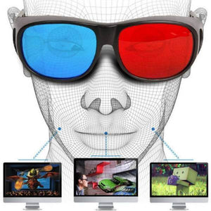 ONLENY 3-Dimensional Anaglyph Video Frame Glasses