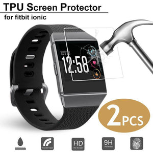2PCS Smart Bracelet HD Explosion-Proof Screen Protectors For Fitbit Ionic