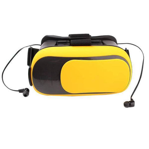 Universal 3D Virtual Reality VR Glasses w/ Earphone