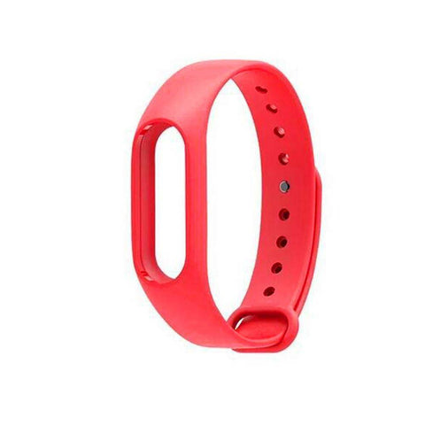 Wristband Watchband Metal Buckle Strap Bracelet TPU For Xiaomi Mi Band 2 Durable