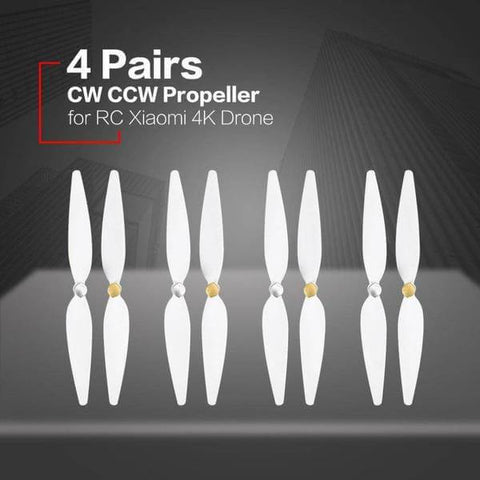 4 Pairs 10 inch for RC xiaomi 4K propeller pervane drone blade propeller accessories