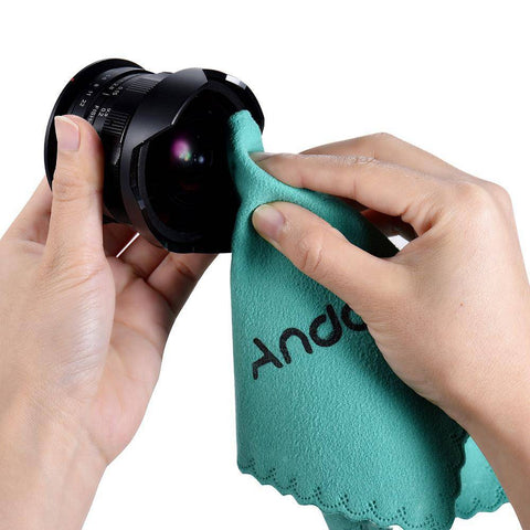 Andoer Cleaning Cloth Screen Glass Lens Cleaner
