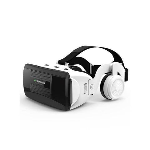 3D VR Glasses Headset with Hi-Fi Headphone Stereo Box