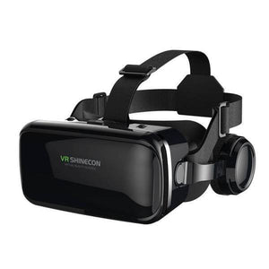 3D VR Glasses with Adjustable Headphones