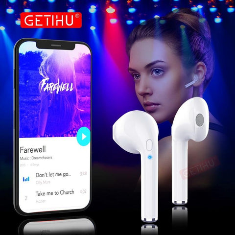 Mini Wireless Bluetooth Earphone Stereo Sport Earpiece for iPhone apple air pods for Earphone Xiaomi