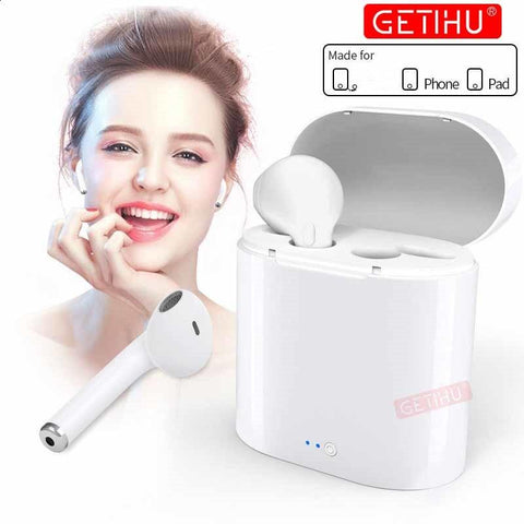 Mini Bluetooth Earphones wireless  Air In Ear Earbuds Sport Stereo  For Apple For iPhone XS MAX 6