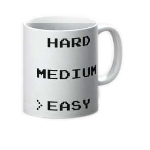 EASY MODE MUG (ARROW)