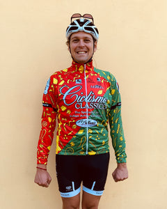 COMING SOON- Pasta Long Sleeve Cycling Jersey