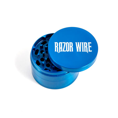 Blue 4-Part Zinc Grinder (2.5in)
