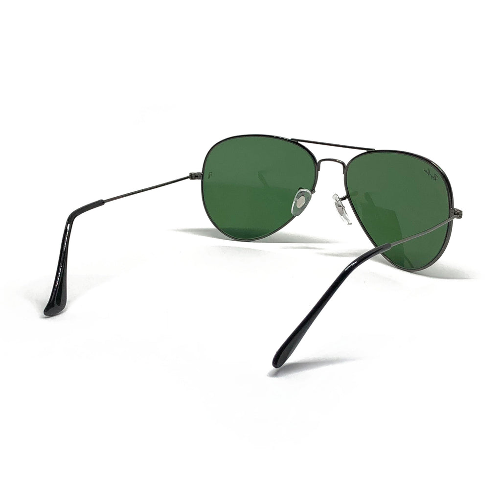 bb81471bd9 ... sweden ray ban aviator rb3026 62 14 62mm gunmetal frame classic green  sunglasses. hover to ...