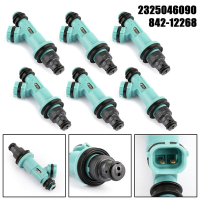 6x Fuel Injector For Toyota Supra Lexus GS300 SC300 IS300 3.0L 23250-46090