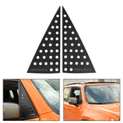 Front Triangular Window Glass Plate Decor Cover Trim For Renegade 2016-2019