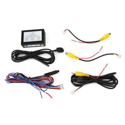 Universal Car SUV Front Rear Parking View Camera Switch 2 Channel Control Box Converter