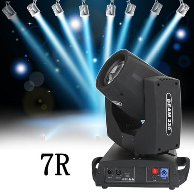 Generic 230W 7R Zoom Moving Head Beam Sharpy Light 8 Prism Strobe DMX 16Ch Party US