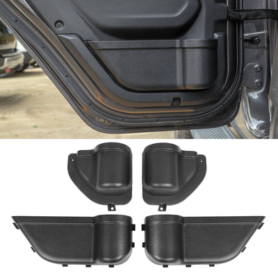 4PCS Front&Rear Door Storage Pockets Organizer Box For Wrangler JL 2018-2019