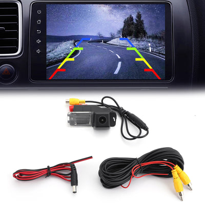CCD Night Waterproof Backup Rear View Parking Camera Reversing IP67 For Golf MK 6 MK7