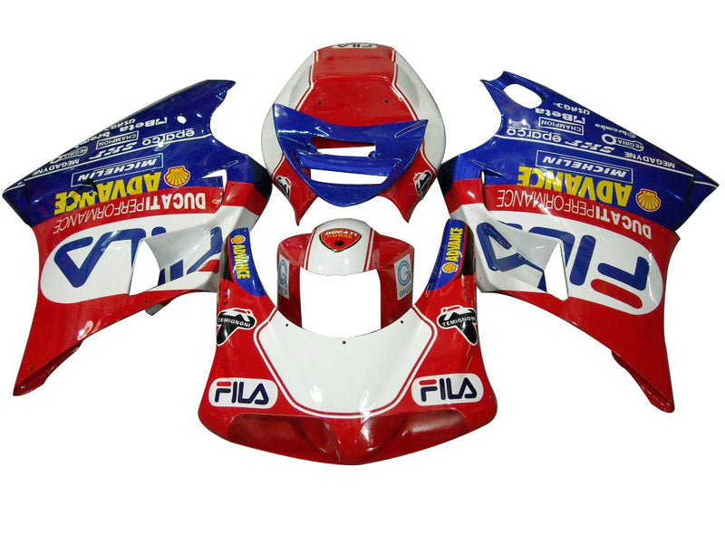 Fit For Ducati 996/748 (1994-2002) Bodywork Fairing ABS Injection Mold 10 Color Generic