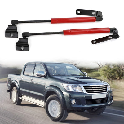 Auto Front Bonnet Gas Struts Hood Lift Support For 2005-2012 Toyota Hilux Vigo