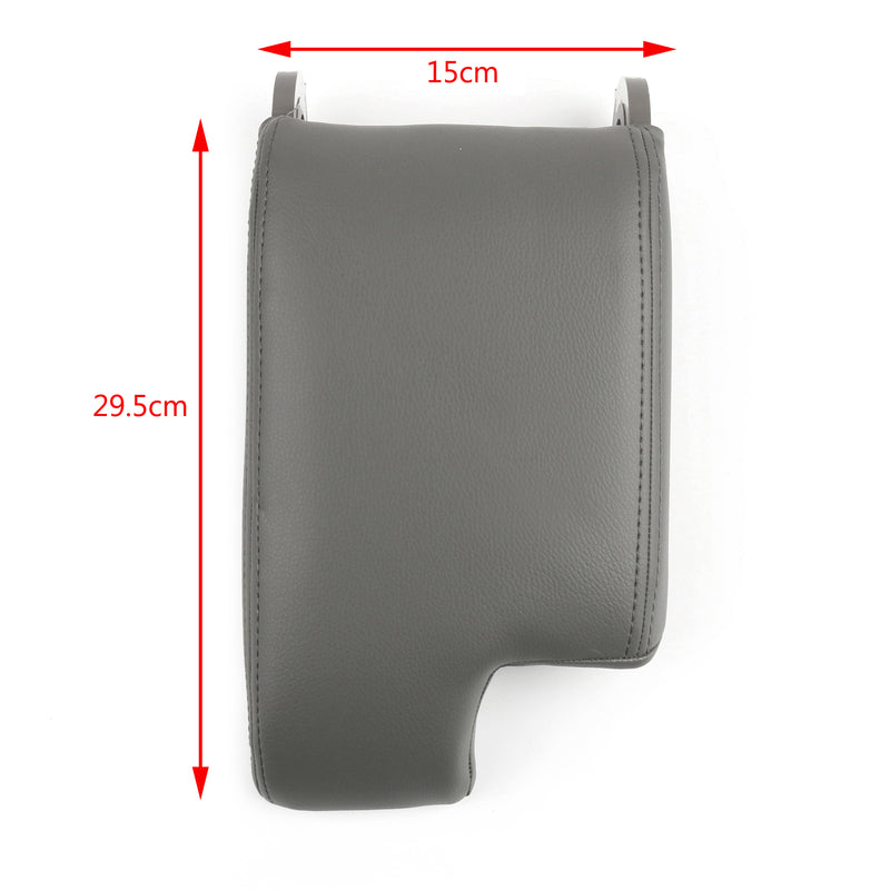 Leather Armrest Center Console Lid Cover For BMW E46 3 Series 98-06 Generic