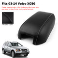 For 2003-2014 Volvo XC90 Synthetic Leather Center Console Lid Armrest Cover New Generic