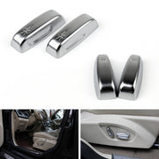 4PCS Chrome Seat Adjustment Switch For Volvo S40 S60 V40 V60 XC60 C30 C70