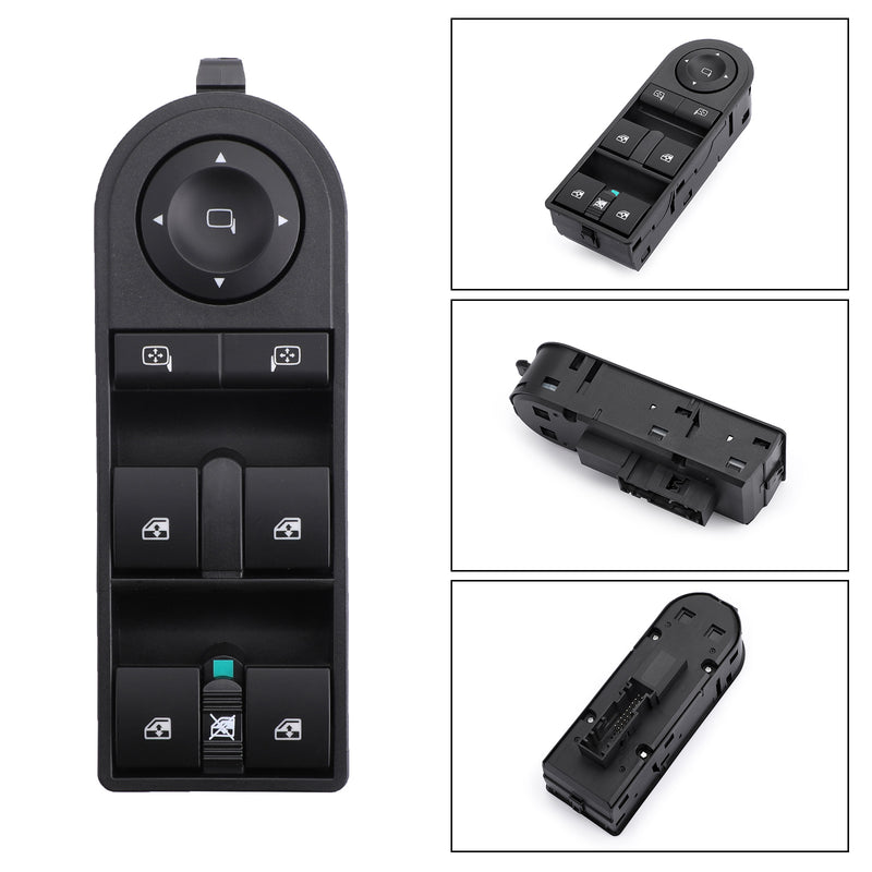 Electric Power Window Control Console Switch For Vauxhall Opel Astra H Zafira