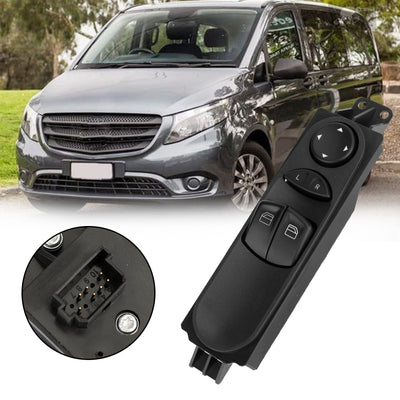 Master Window Switch for Mercedes Benz Valente Vito Mixto W639 2003 2004-2015