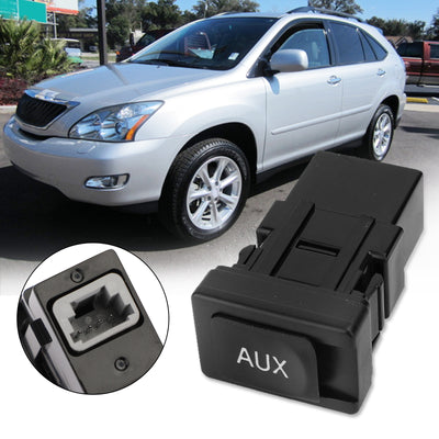 NEW AUX Auxiliary Stereo Adapter 86190-53010 86190-06010 For Toyota Lexus