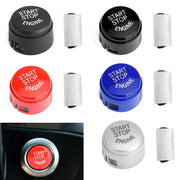 Car Start Stop Engine Push Button Switch Cover For BMW F01 F02 F10 F11