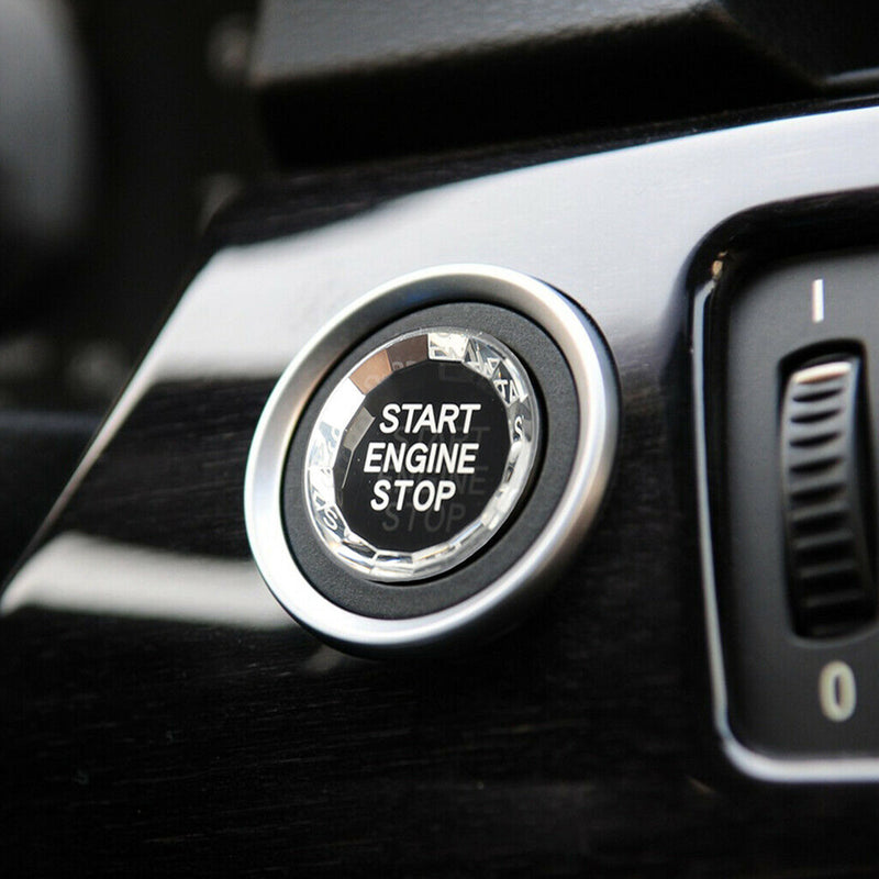 Engine Start Stop Switch Button Crystal Decal  For Bmw E Chassis E90/92/93/64/46 Generic
