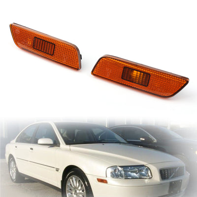Front Bumper Left/Right Side Turn Signal Lamp Light For Volvo S80 1998-2006