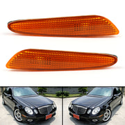 For Benz W211 E-Class 2003-2006 Side Marker Light in Bumper Turn Signal Lamp