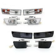 Front Bumper Light & Signal Lamp Fog Light For VW Golf Jetta MK3 1993-1998